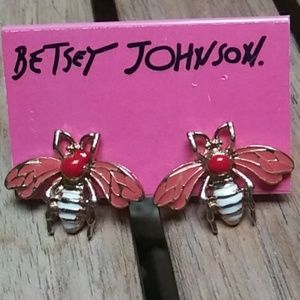 🐝Betsey Johnson Bee Earrings